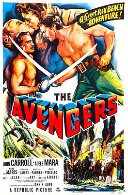 Roberto Photograph - The Avengers, Us Poster, Kissing by Everett