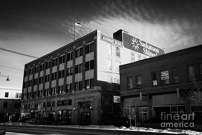 the avenue building originally macmillan department store Saskatoon Saskatchewan Canada Art Print by Joe Fox