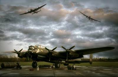 The Avro Lancaster Trio Art Print