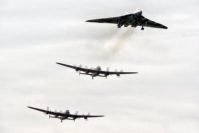 Canadian Heritage Photograph - The Avro Trio by Jason Green