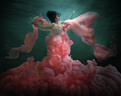 Mermaid Photograph - The Awakening Of Flora by Martha Suherman