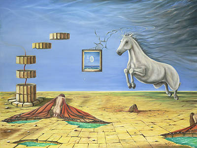 Gostanza Painting - The Awakening by Teresa Gostanza