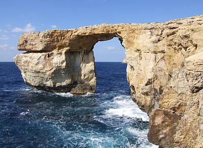 Photograph - The Azure Window by Paula Guy