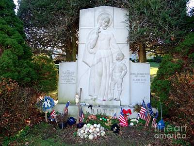 Photograph - The Babe's Resting Place by Ed Weidman