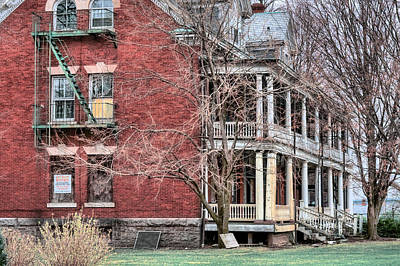 Photograph - The Bachelor Officers Quarters  by JC Findley