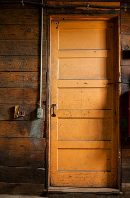 Photograph - The Back Door by Fran Riley