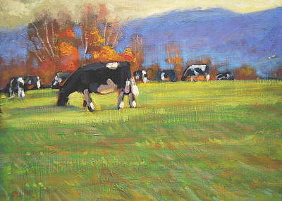 Painting - The Back Forty by Len Stomski