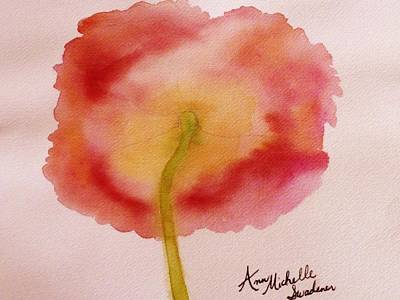 The Back Side Of A Poppy Art Print