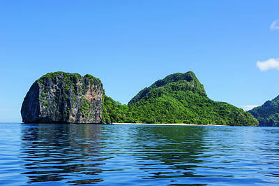 The Bacuit Archipelago, Palawan Art Print