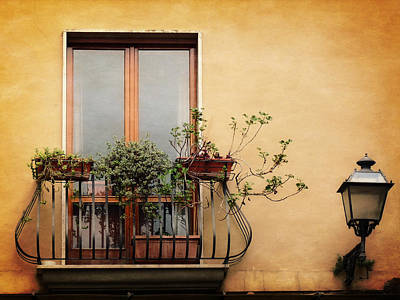 Photograph - The Balcony by Lucinda Walter