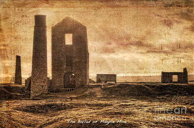 Photograph - The Ballad Of Magpie Mine by David Birchall