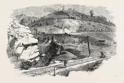 The Baltimore And Ohio Railway Boardtree Hill Art Print