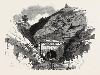 The Baltimore And Ohio Railway Ringwood Tunnel Art Print