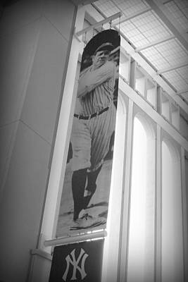 Joe Dimaggio Vintage Photograph - The Bambino by Aurelio Zucco