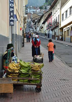 Photograph - The Banana Seller by Steven Richman