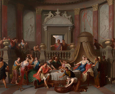 The Banquet Of Cleopatra Art Print by Mountain Dreams