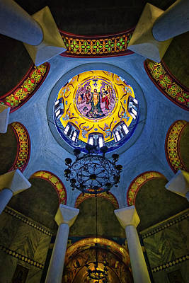 Photograph - The Baptistery Of Lydia by Meirion Matthias