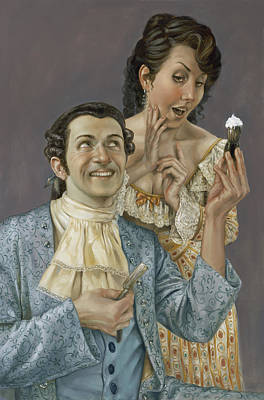Tosca Painting - The Barber Of Seville by Matt Hughes