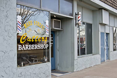 Photograph - The Barber Shop 3 by Angelina Vick