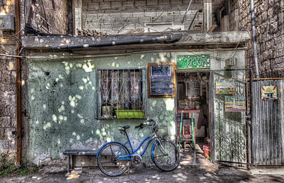 Photograph - The Barber Shop by Uri Baruch