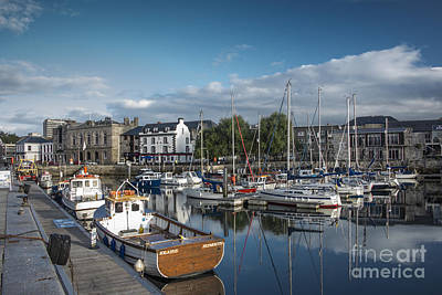 Photograph - The Barbican Plymouth Devon by Donald Davis