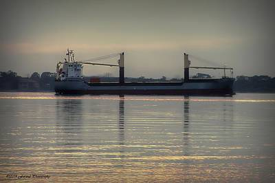 Photograph - The Barge  by Debra Forand