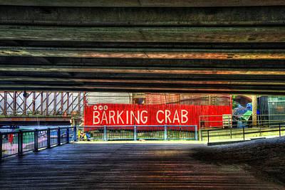 Photograph - The Barking Crab - Boston by Joann Vitali