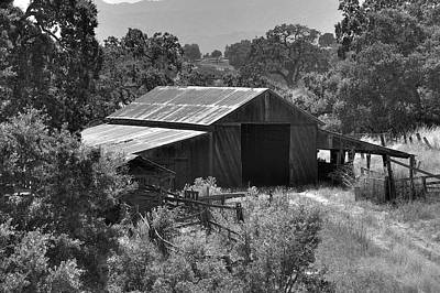 Photograph - The Barn 2 by Richard J Cassato