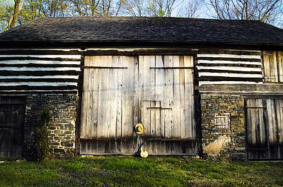 Barn Photograph - The Barn And The Banjo Mandolin by Bill Cannon