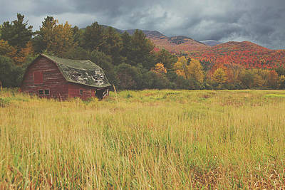 Barn Red Photograph - The Barn by Carrie Ann Grippo-Pike