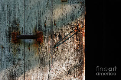 Photograph - The Barn Door by Debra Fedchin