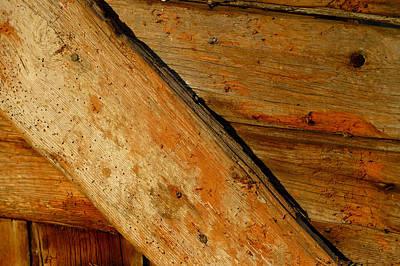 The Barn Door Art Print by William Jobes