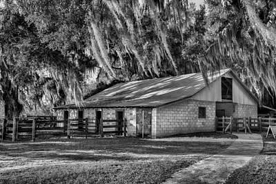 Photograph - The Barn by Howard Salmon