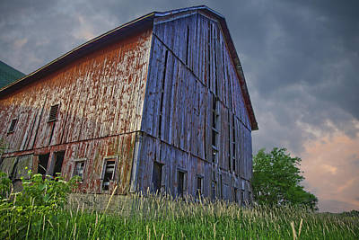 Photograph - The Barn by John Crothers