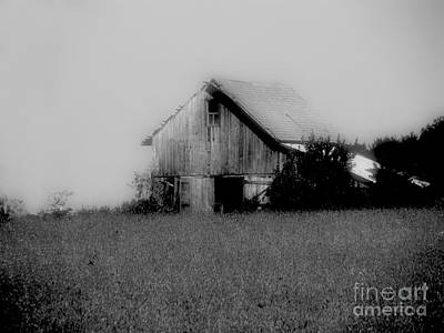 Photograph - The Barn by Scott B Bennett