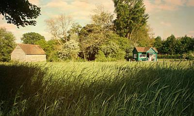 The Barn Art Print by Stephen Norris