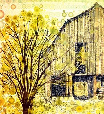 The Barn Where... Art Print
