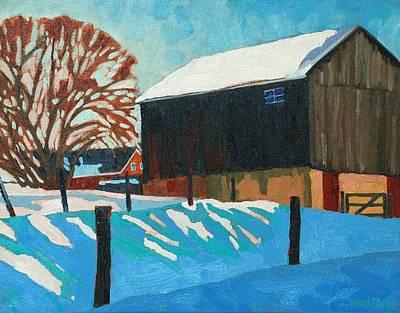 The Barnyard Art Print