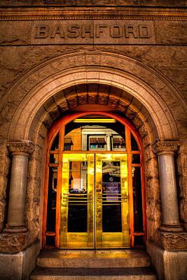 The Bashford Building Prescott Arizona Print by David Patterson