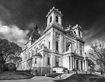 Photograph - The Basilica Of St Mary by Guy Whiteley