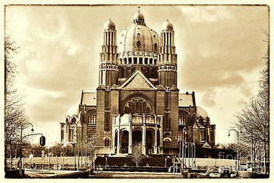 Belguim Wall Art - Photograph - The Basilica Of The Sacred Heart 2 by Bouquet  Of arts