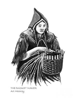 The Basket Maker Art Print