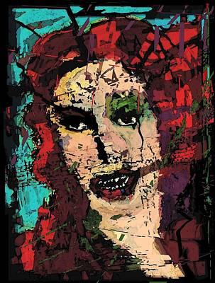 Simonetta Vespucci Painting - The Basorexic  by Brett Sixtysix