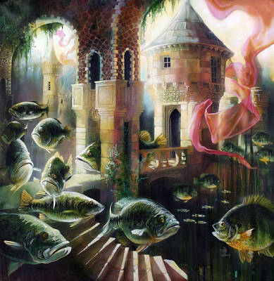 Painting - The Bass House by Lynette Yencho