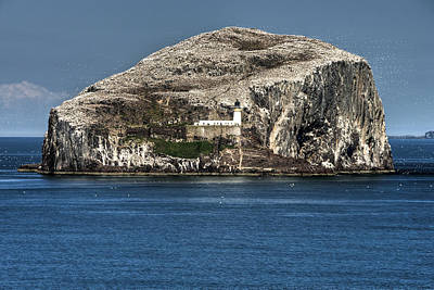 Photograph - The Bass Rock by Ross G Strachan