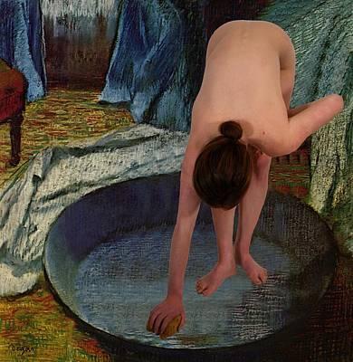 The Bather Art Print by Don McCunn