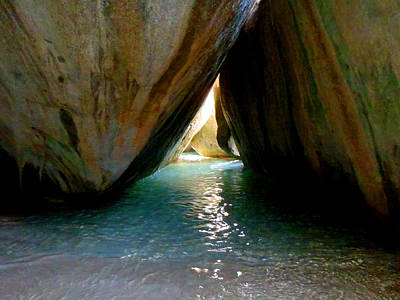 Photograph - The Baths At Virgin Gorda by Kathryn McBride