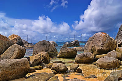 Photograph - The Baths Virgin Gorda Island by Olga Hamilton
