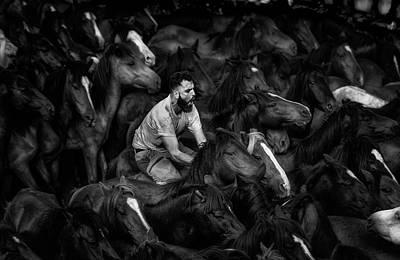Riding Wall Art - Photograph - The Battle by Alfonso Maseda Varela