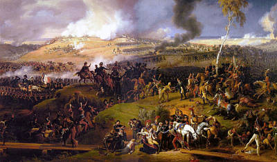 Battle Painting - The Battle Of Borodino by Celestial Images